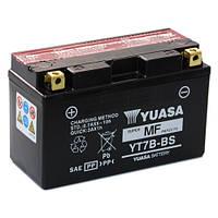 Мото аккумулятор YUASA  YT7B-BS