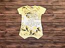 Детская футболка-туника Цветы для девочки на 5-9 лет, фото 4