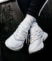 Чоловічі-жіночі кросівки Adidas Ozweego рефлективні, кросівки адідас озвиго, фото 3