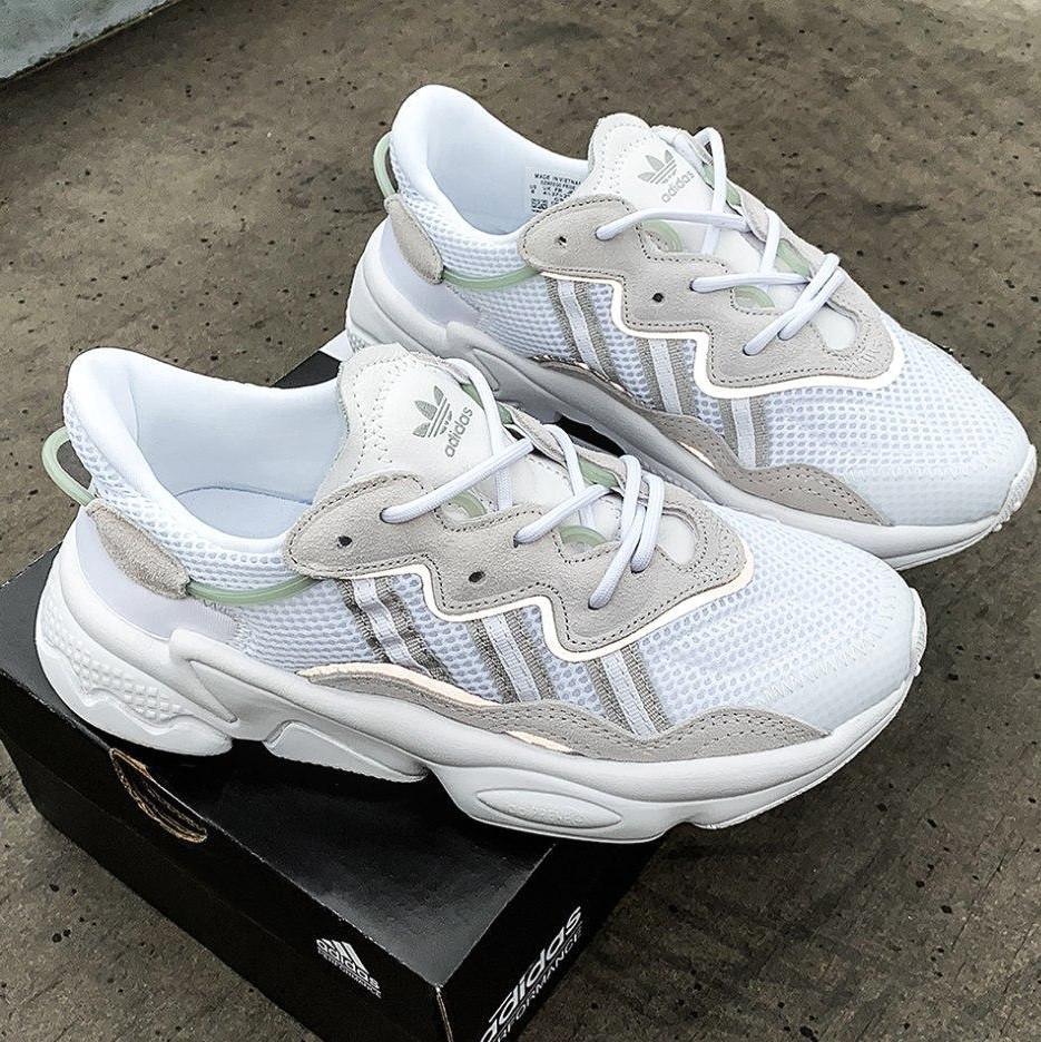 Чоловічі-жіночі кросівки Adidas Ozweego рефлективні, кросівки адідас озвиго