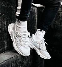 Чоловічі-жіночі кросівки Adidas Ozweego рефлективні, кросівки адідас озвиго, фото 2