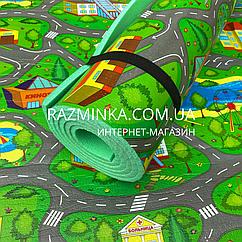 Водонепроницаемый детский пляжный коврик 2000*1100*8мм (зеленый)