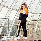 Спортивный костюм женский большого размера Minova Размеры: 48-50, 52-54, 56-58, 60-62 ,64-66, фото 3