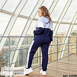 Спортивный костюм женский большого размера Minova Размеры: 48-50, 52-54, 56-58, 60-62 ,64-66, фото 4