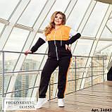 Спортивный костюм женский большого размера Minova Размеры: 48-50, 52-54, 56-58, 60-62 ,64-66, фото 5