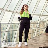 Спортивный костюм женский большого размера Minova Размеры: 48-50, 52-54, 56-58, 60-62 ,64-66, фото 6