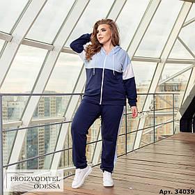Спортивный костюм женский большого размера Minova Размеры: 48-50, 52-54, 56-58, 60-62 ,64-66