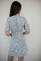 Коротке літнє плаття з штапелю, фото 3