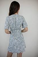 Короткое летнее платье из штапеля, фото 3