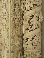 Прорезные колонны,резные столбы, фото 1