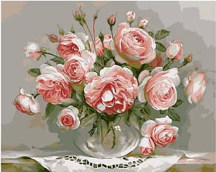 Картина за номерами (Букет ніжності) bk_1048
