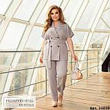 Женский брючный костюм батал Украина размер :  48-50, 52-54, 56-58, 60-62, 64-66., фото 8