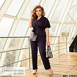 Женский брючный костюм батал Украина размер :  48-50, 52-54, 56-58, 60-62, 64-66., фото 7