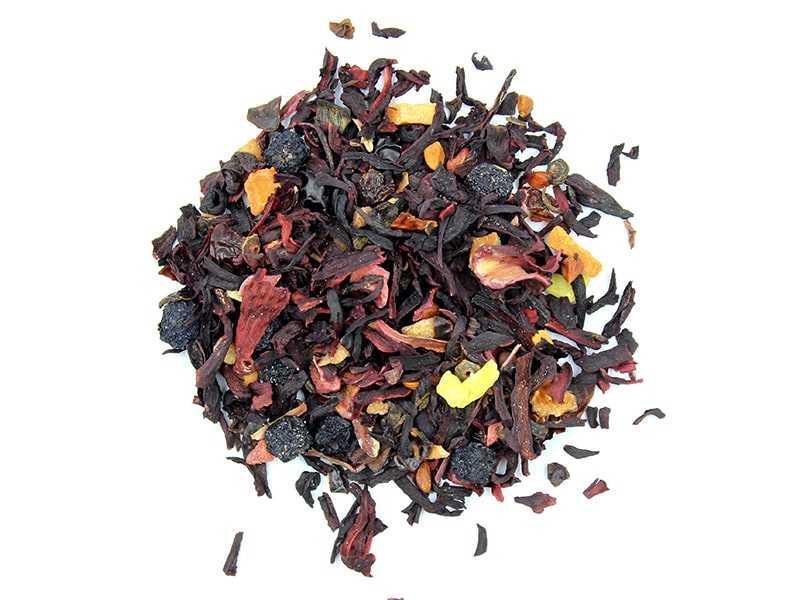 Чай Teahouse Тиахаус Наглый фрукт 250 г Tea Teahouse Cheeky fruit 250 g