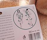 Мочалка рукавиця банна масажна натуральна TITANIA art.7250, фото 8