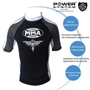 Рашгард для MMA Power System 003 Scorpio M Black/White