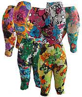 Женские трессы цветные, бриджи, велосипедки, капри, женская одежда от производителя,женский трикотаж