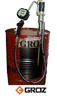 Насос пневматический бочковый с расходомером для перекачки масел GROZ OP/T3/31B/BSP