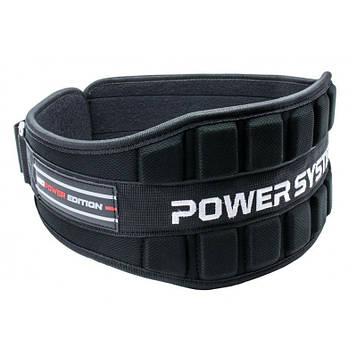 Неопреновий Пояс для важкої атлетики Power System Neo Power PS-3230 Black/Red XL