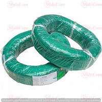 07-11-005GN. Провод монтажный многожильный 26АWG (0,13мм²), силиконовый, зеленый, 305м/бухта