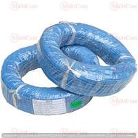 07-11-005BU. Провод монтажный многожильный 26АWG (0,13мм²), силиконовый, синий, 305м/бухта