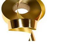 Лента полипропиленовая Золотая 2 см 45 м/рулон