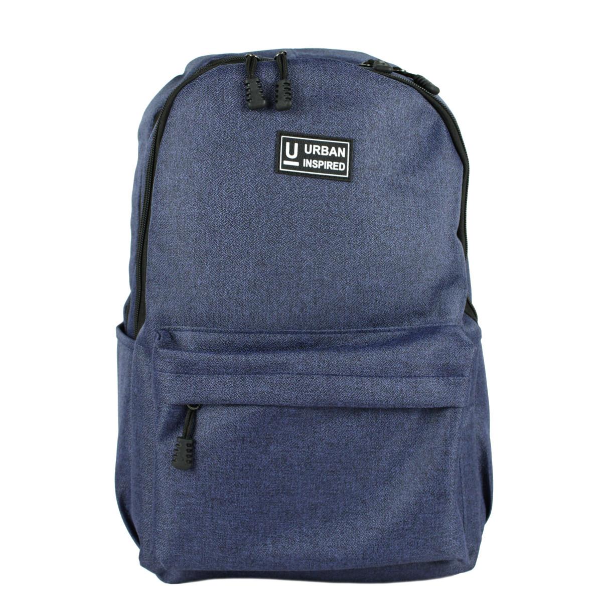 Рюкзак универсальный повседневный Urban текстиль синий