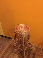 Барный стул из цельной лозы