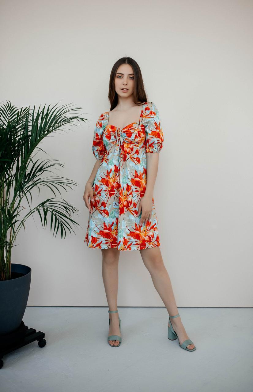 Літнє плаття міні