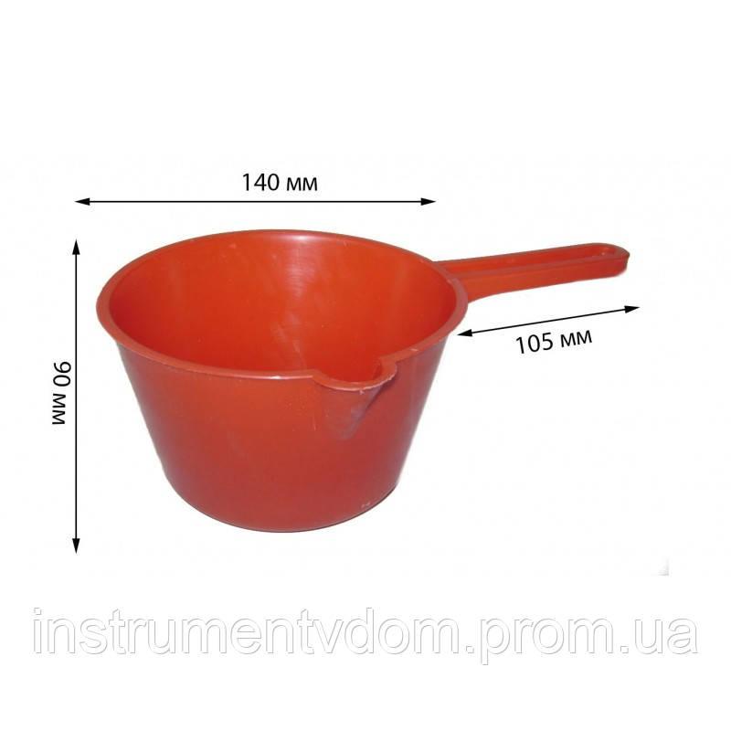 Ковш пластиковый, 1 л (набор 10 шт)