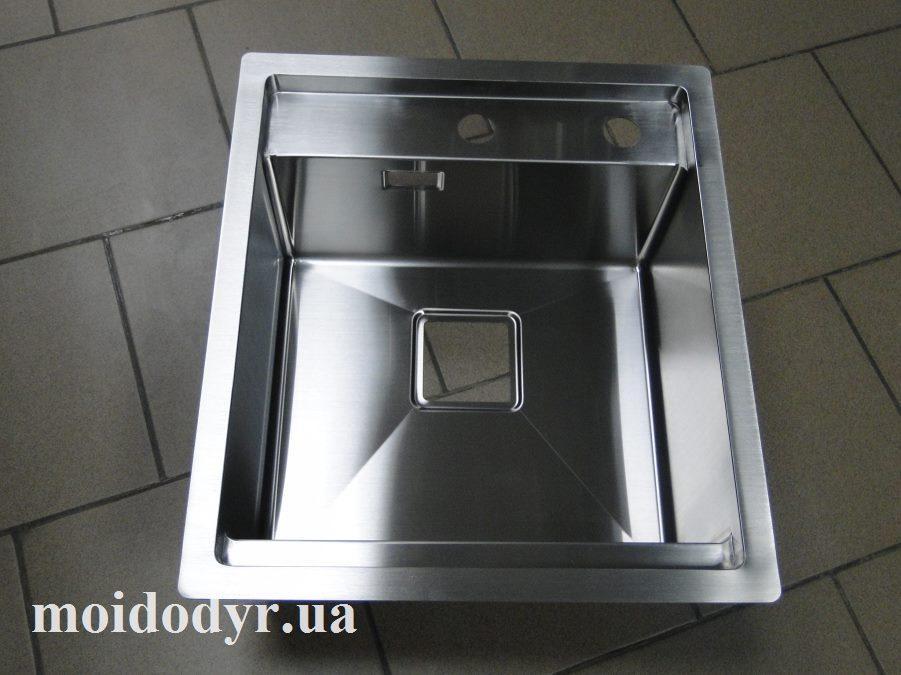"""Мойка кухонная ТМ """"МойДом"""" 450/510/220 из нержавеющей стали"""