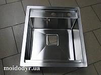 """Мойка кухонная ТМ """"МойДом"""" 450/510/220 из нержавеющей стали, фото 1"""