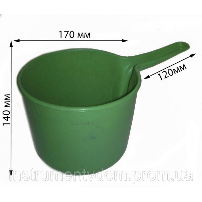 Ковш пластиковый, 2 л (набор 10 шт)