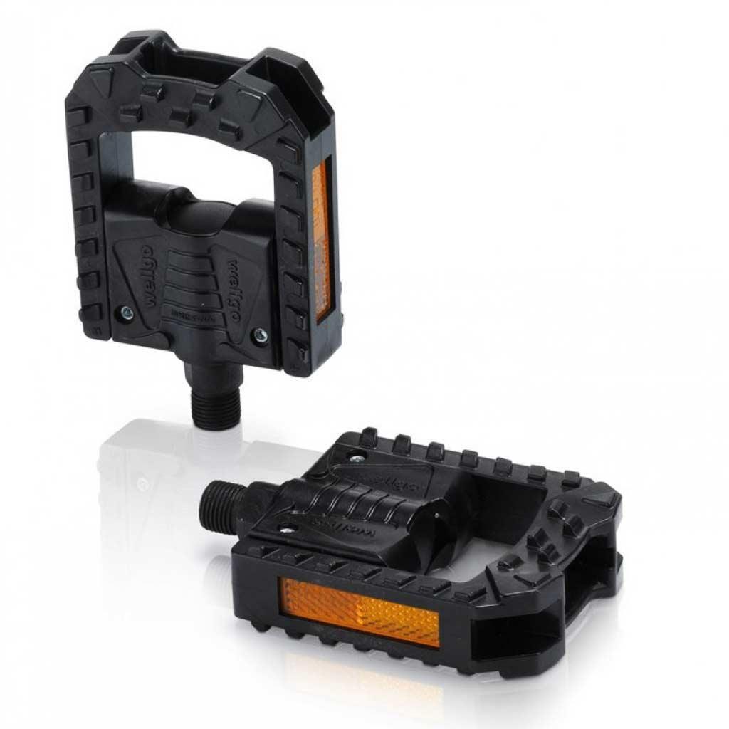 Педали складные XLC PD-F01, 325 гр, черные
