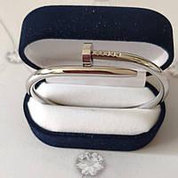 Браслет Cartier Гвоздь,16S, Белое Золото