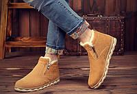 Чоловічі зимові замшеві черевики. Модель 04161, фото 4