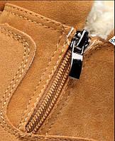 Чоловічі зимові замшеві черевики. Модель 04161, фото 6