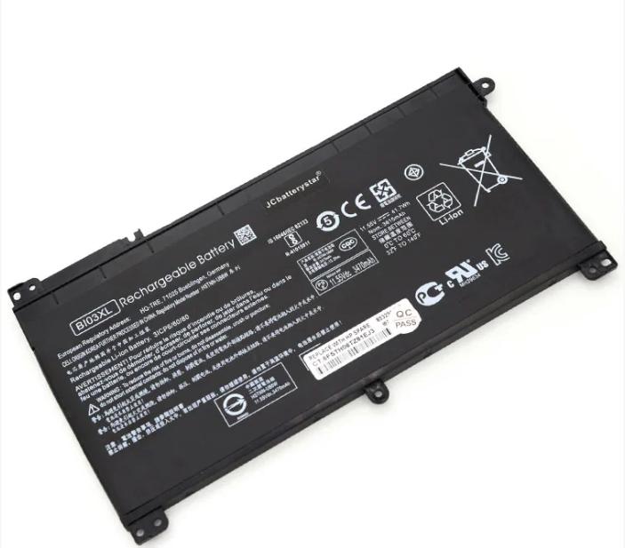 Акумуляторна батарея HP BI03XL Pavilion X360 13-U100TU U113TU U169TU TPN-W118 Stream 14-AX0 HSTNN-UB6W 84353
