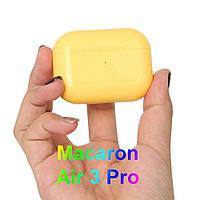 PRO Macaroon Желтые Bluetooth Беспроводные Наушники Качественные