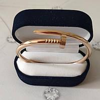 Браслет Cartier 16S, Гвоздь, Розовое Золото