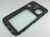 Задняя часть корпуса LG P715 Optimus L7 II Dual Black Blue (ACQ86345602), Б/У
