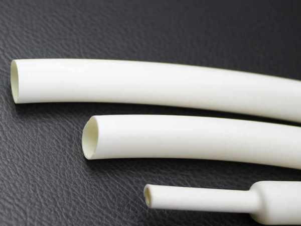 Термоусадочная трубка 10mm белая 1м