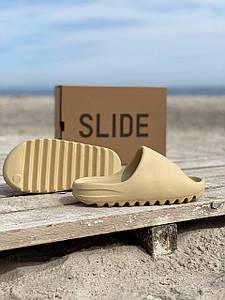 Жіночі тапочки Adidas Yeezy Slide Desert Sand .Жіночі кросівки Адідас ізі. Жіночі Кеди Adidas