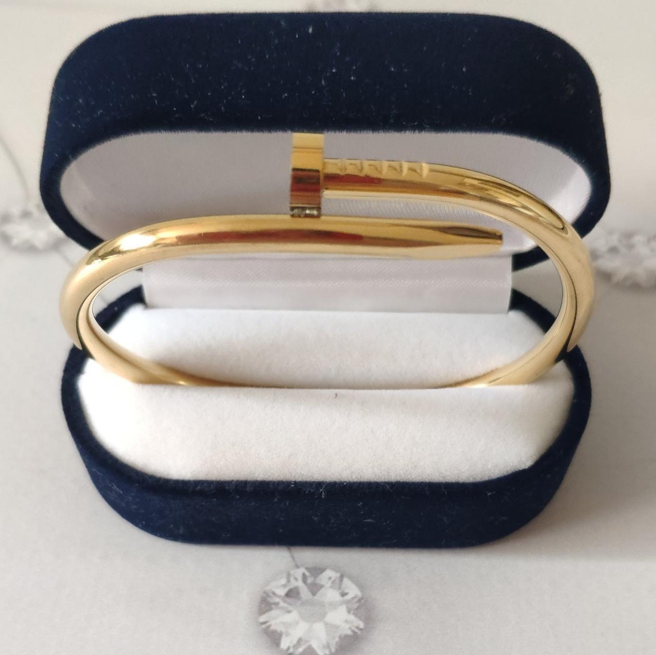 Браслет Cartier 16S, Гвоздь, Желтое Золото