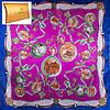 Женский яркий атласный платок размером 90*88 см ETERNO (ЭТЕРНО) ES0406-5-5