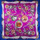 Женский яркий атласный платок размером 90*88 см ETERNO (ЭТЕРНО) ES0406-5-5, фото 2