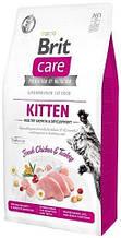 Brit Care Cat GF Kitten HGrowth & Development, 2кг (здоровый рост и развитие)