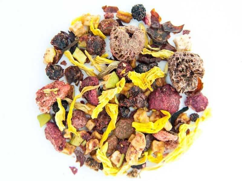 Чай Teahouse (Тіахаус) Ягідний пиріг 250 г (Tea Teahouse Berry pie 250 g)