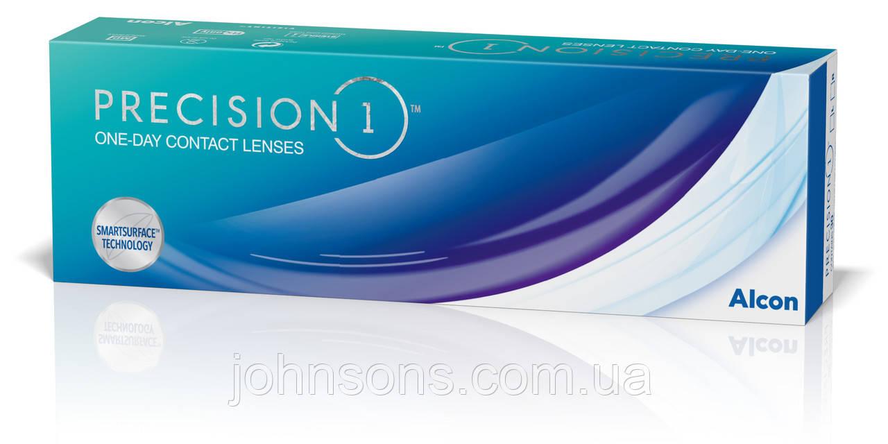 Одноденні контактні лінзи Alcon PRECISION1