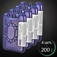 Хладагент-термоакумулятор 4 шт. по 200 г Акумулятор холоду Thermo для термосумки (11019374)